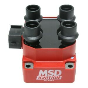 Msd 8241 Ignition Coil For 97 99 Ford F 150 F 250