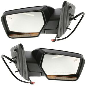 Kool Vue Mirror Set For 2007 2008 Ford Expedition Primed Left Right 2pc