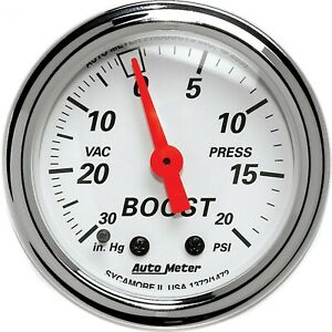 1372 Autometer New Boost Gauge