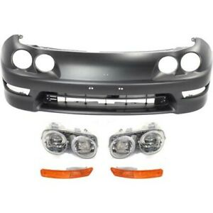 Bumper Kit For 98 2001 Acura Integra Gs Gs r Ls Models Front 5pc