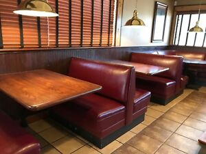 Redwood Restaurant Style Table Tops Used