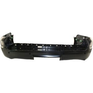 Bumper Cover For 2003 2004 2005 2006 Ford Expedition Rear Primed W Sensor Holes