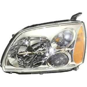 Headlight For 2005 2006 2007 Mitsubishi Galant Left With Bulb