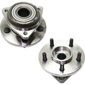 New Wheel Hubs Set Of 2 4wd 4x4 Front Driver And Passenger Side 53007449 Pair