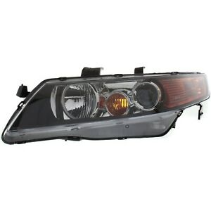 Headlight For 2004 2005 Acura Tsx Base Model Left Clear Lens Hid