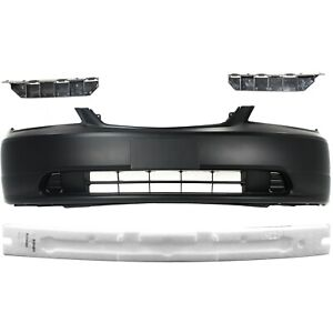 Bumper Cover For 2001 2003 Honda Civic Primed With License Plate Provision