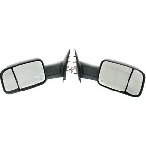 Tow Mirror Set For 2002 2009 Dodge Ram 1500 Left Right Power Heat Blind Spot