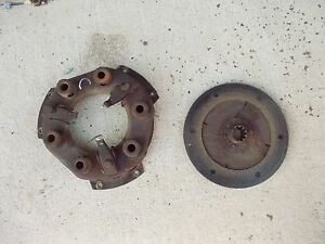 Allis Chalmers C Tractor Ac Engine Clutch Assembly Pressure Plate