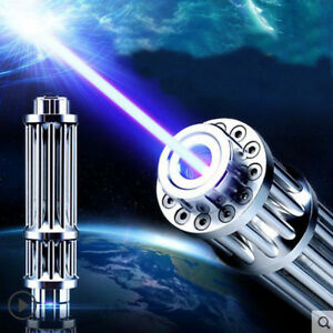 Hot High Power 5000000m Blue Laser Pointers 450nm Lazer Flashlight Burning Matc