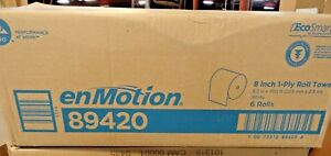 Enmotion Touchless Paper Towel Rolls 8 2 Inch X 700 Ft 6 Case New
