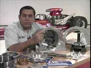 Building The Super Hp Racing Chevy Powerglide Transmission Dvd Step by step