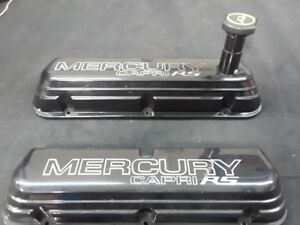 Mercury Capri Rs 5 0 Valve Covers Pair Fox Mustang 351w 302 Efi