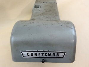 Very Nice 12 Craftsman Commercial Lathe Headstock Top Guard Cover Assy 342 032