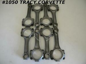 1955 1967 Chevy Reconditioned Small Journal 11 32 Connecting Rods 283 327 Sbc 8