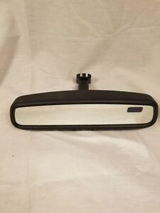 04 06 Nissan Maxima Rear View Mirror W T Auto Dimming Homelink Compass Oem