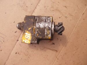 International Cub 154 Low Lo Boy Tractor Good Working Ih Hydraulic Pump Valve