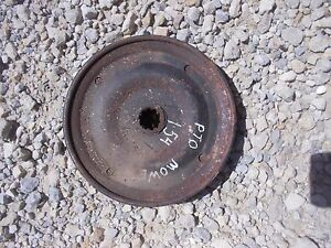 International Cub 154 Tractor Pulley Pto Power Take Off Run A Mower