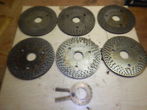 Set Of 6 Rotary Table Super Spacer Index Plates Machinist Tooling