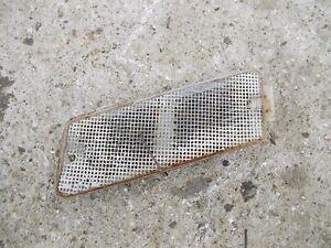 Ford 861 Tractor Original Hood Side Cover Panel Vent