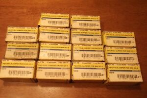 Two Pole Jumper Square D Class 9080 Gc6 Type Gh74 14 Boxes Of 10 New am2