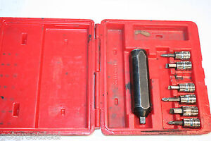 Snap on Tools 3 8 Drive Impact Driver Set 7pc Snap on Case
