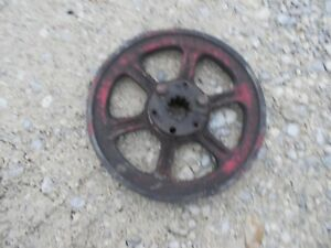 International Cub Tractor Ih 42 Mower Deck Rear Belt Drive Pto Pulley