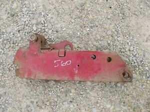 Farmall 450 560 Tractor Ih 2pt Hitch Fast Hitch Implement Prong Pocket Holder
