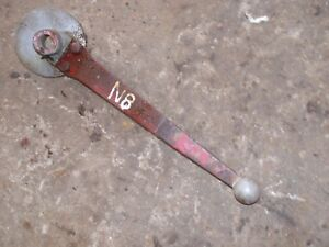 Ford 8n Tractor 3pt Hitch Nice Original Control Lift Handle Lever