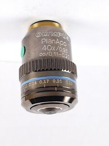 Olympus Planapo 40x Dry With Correction Collar Apo Objective For Bx Microscope