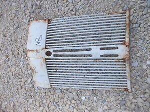 Ford 8n Tractor Front Nose Cone Bar Grill In Front Of Radiator