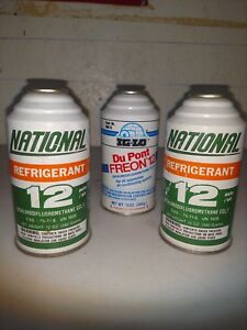 R12 Refrigerant 3 Cans