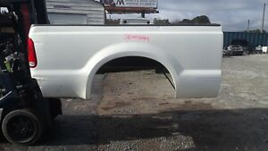 Sbwhrah Ford F250 Super Duty Short Bed Box White 99 10