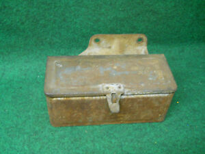 9n Ford Tractor Toolbox With Attached Mounting Bracket Fits 9n 17005 a