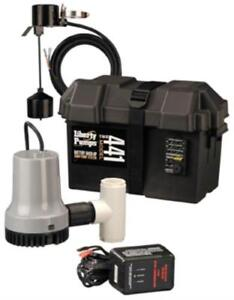 Liberty 441 Battery Back up Emergency Sump Pump System