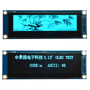 3 12 Blue Oled Display Module Spi Interface 256x64 Ssd1322 For Arduino Stm32 51