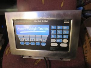 Avery Weigh Tronix Model 1310 Programmable Weight Indicator Used