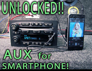 Chevy Gmc Gm 2004 2005 2006 Truck Radio 6 Disc Cd Player Aux Mp3 Input 15196055