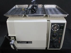 Used Tuttnauer 2340m Dental Lab Autoclave Steam Sterilizer For Instruments