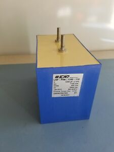 Capacitor Pulse Discharge Self Healing 1350 Uf 1100 Vdc Icar Made In Italy