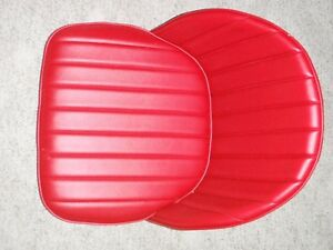 Hotrod Rat Rod Pair Bucket Bomber Seats 32 33 34 T A Ford Car Boat Mg Red