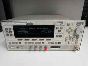 Agilent Hp 83640l Synthesized Sweep Signal Generator 10 Mhz To 40 Ghz Opt 001