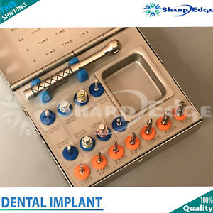 Dental Implant Surgical Drill Kit Sinus Lift Ratchet Wrench Surgery Implant Kit