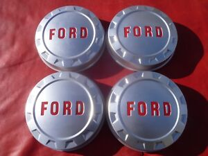 Vintage Nos 1961 66 Ford Truck F 100 Dog Dish Poverty Hubcaps Wheel Covers