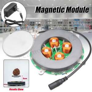 500g 650g Diy Magnetic Floating Module Platform Display Kit With Led Light New