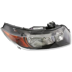 Headlight For 2006 2007 Honda Civic Coupe Right Clear Lens With Bulb