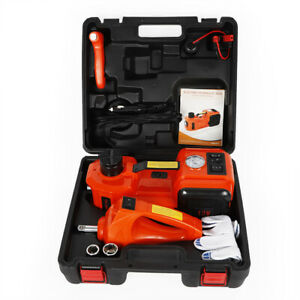 3t Electric Hydraulic Jack Impact Wrench Set For Car Repairing