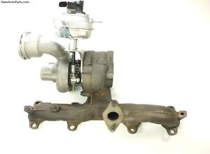 Rebuilt Vw Tdi Turbocharger 02 06 Jetta Beetle Golf Bew Turbo With Actuator