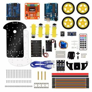 Kuongshun 4wd Robot Car Chassis Kit Uno R3 170point Mini Breadboard Smart Kit