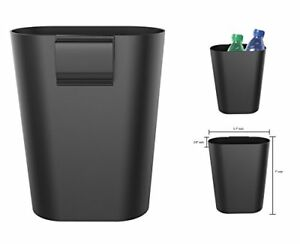 Car Garbage Can Clip On Seatback Door Panel Travel Litter Trash Bin Small
