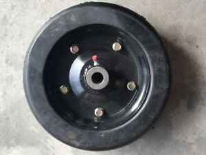 New Replacement Bush Hog Solid Finish Mower Wheel 10 X 3 25 Part Number 87750